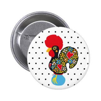 Coq célèbre de Barcelos Nr 06 - pois Pin's