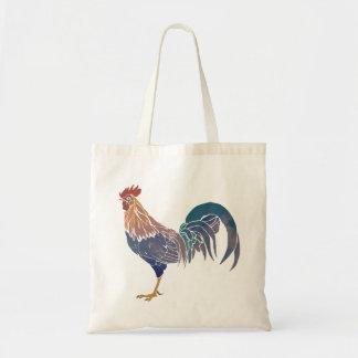 Coq cosmique Fourre-tout Tote Bag