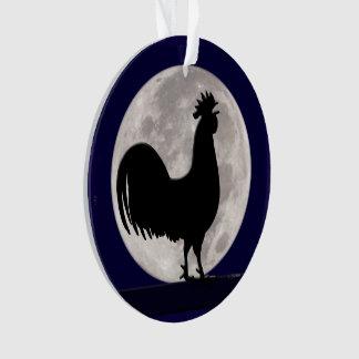 Coq dans le clair de lune