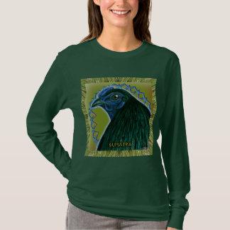 Coq de Sumatra encadré T-shirt