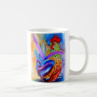 Coq élégant mug
