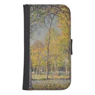 Coque Avec Portefeuille Pour Galaxy S4 Alfred Sisley | le Bois de Boulogne
