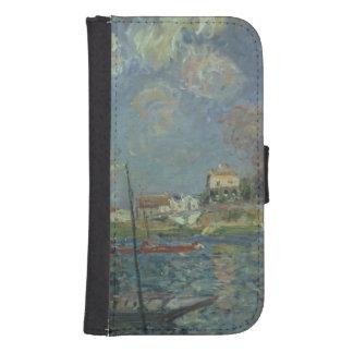 Coque Avec Portefeuille Pour Galaxy S4 Alfred Sisley | le pont