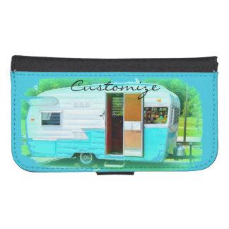 Coque Avec Portefeuille Pour Galaxy S4 Caravane gitane Thunder_Cove de maison minuscule