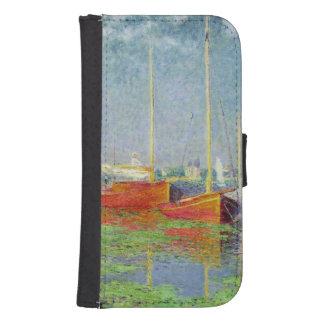 Coque Avec Portefeuille Pour Galaxy S4 Claude Monet | Argenteuil, c.1872-5