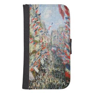 Coque Avec Portefeuille Pour Galaxy S4 Claude Monet | la rue Montorgueil, Paris