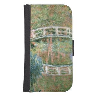 Coque Avec Portefeuille Pour Galaxy S4 Claude Monet | le pont japonais, Giverny