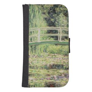 Coque Avec Portefeuille Pour Galaxy S4 Claude Monet | Nenuphars blanc, 1899