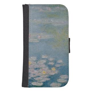 Coque Avec Portefeuille Pour Galaxy S4 Claude Monet | Nympheas chez Giverny, 1908