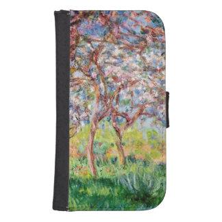 Coque Avec Portefeuille Pour Galaxy S4 Claude Monet | Printemps Giverny, 1903