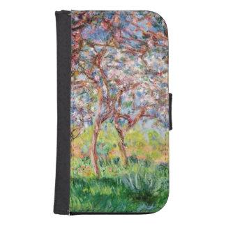 Coque Avec Portefeuille Pour Galaxy S4 Claude Monet | Printemps un Giverny