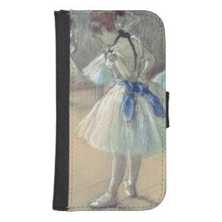 Coque Avec Portefeuille Pour Galaxy S4 Danseur d'Edgar Degas |