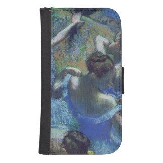 Coque Avec Portefeuille Pour Galaxy S4 Danseurs de bleu d'Edgar Degas |, c.1899