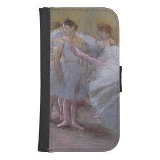 Coque Avec Portefeuille Pour Galaxy S4 Danseurs d'Edgar Degas | à la répétition,