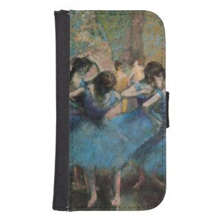 Coque Avec Portefeuille Pour Galaxy S4 Danseurs d'Edgar Degas | dans le bleu, 1890