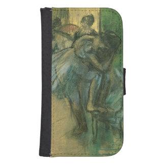 Coque Avec Portefeuille Pour Galaxy S4 Danseurs d'Edgar Degas | préparant
