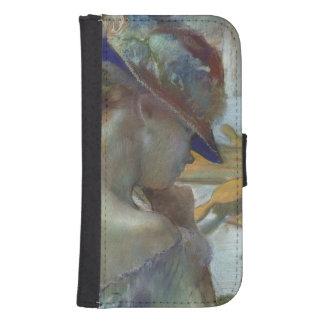 Coque Avec Portefeuille Pour Galaxy S4 Edgar Degas | devant le miroir, 1889