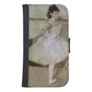 Coque Avec Portefeuille Pour Galaxy S4 Edgar Degas | la leçon de danse, c.1879