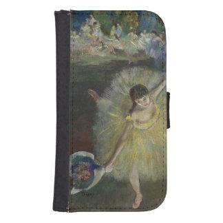 Coque Avec Portefeuille Pour Galaxy S4 Fin d'Edgar Degas | d'un arabesque, 1877