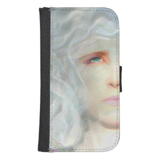 Coque Avec Portefeuille Pour Galaxy S4 La Renaissance blanche
