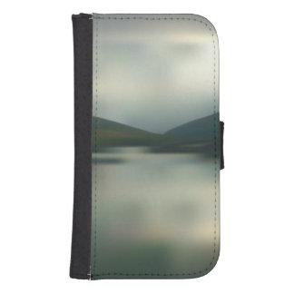 Coque Avec Portefeuille Pour Galaxy S4 Lac dans les montagnes