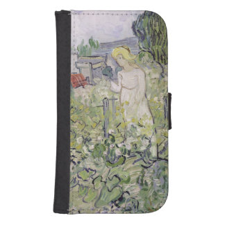 Coque Avec Portefeuille Pour Galaxy S4 Mademoiselle Gachet de Vincent van Gogh | dans le