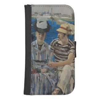 Coque Avec Portefeuille Pour Galaxy S4 Manet | Argenteuil, 1874