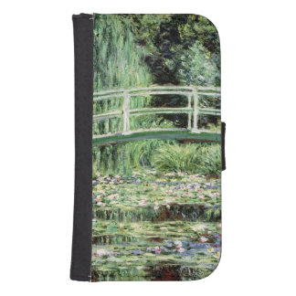 Coque Avec Portefeuille Pour Galaxy S4 Nénuphars de blanc de Claude Monet |, 1899