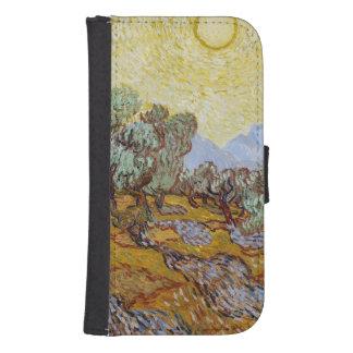 Coque Avec Portefeuille Pour Galaxy S4 Oliviers de Vincent van Gogh  , 1889