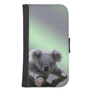 Coque Avec Portefeuille Pour Galaxy S4 Ours de koala