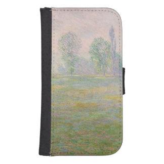 Coque Avec Portefeuille Pour Galaxy S4 Prés de Claude Monet | en Giverny, 1888