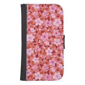 Coque Avec Portefeuille Pour Galaxy S4 Sakura
