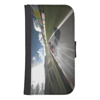 Coque Avec Portefeuille Pour Galaxy S4 Special de photo de Turismo 6 de mamie