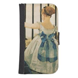 Coque Avec Portefeuille Pour Galaxy S4 St Lazare, 1872-3 de Manet | Gare