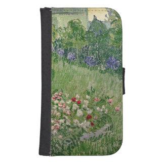 Coque Avec Portefeuille Pour Galaxy S4 Vincent van Gogh jardin de | Daubigny, 1890