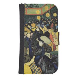 Coque Avec Portefeuille Pour Galaxy S4 Vincent van Gogh | la salle de danse chez Arles,