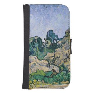 Coque Avec Portefeuille Pour Galaxy S4 Vincent van Gogh | l'Alpilles, 1889