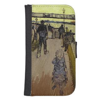 Coque Avec Portefeuille Pour Galaxy S4 Vincent van Gogh | Le Pont de Trinquetaille Arles