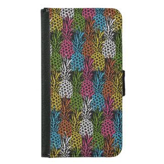 Coque Avec Portefeuille Pour Galaxy S5 Ananas sauvage et doux
