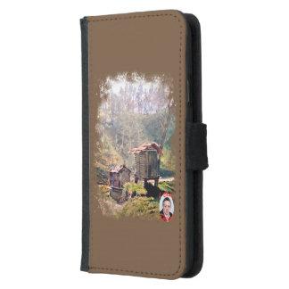 Coque Avec Portefeuille Pour Galaxy S5 Cabazos