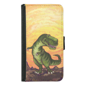 Coque Avec Portefeuille Pour Galaxy S5 Instruments de Tyrannosaurus