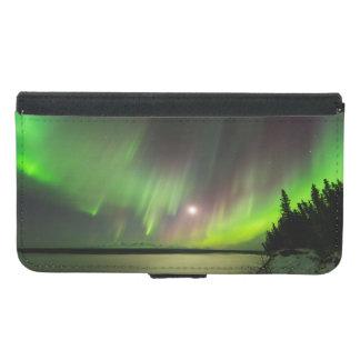 Coque Avec Portefeuille Pour Galaxy S5 L'aurore majestueuse