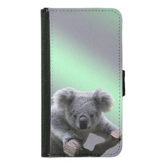 Coque Avec Portefeuille Pour Galaxy S5 Ours de koala