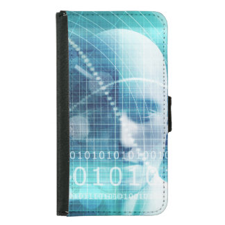Coque Avec Portefeuille Pour Galaxy S5 Scientifiques d'éducation et de se développer de