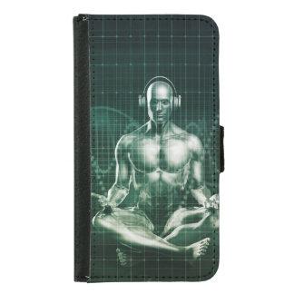 Coque Avec Portefeuille Pour Galaxy S5 Technologie d'Immersive et expérience saine de