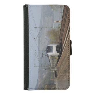 Coque Avec Portefeuille Pour Galaxy S5 Train des personnes dans les Niederheimbach