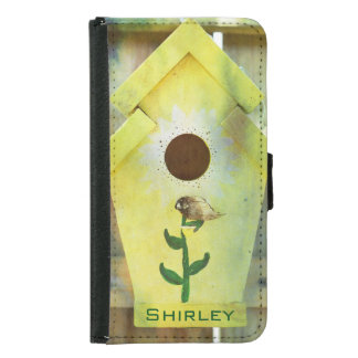 Coque Avec Portefeuille Pour Galaxy S5 Volière par Shirley Taylor