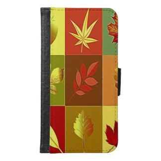 Coque Avec Portefeuille Pour Galaxy S6 Couleurs en automne