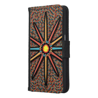 Coque Avec Portefeuille Pour Galaxy S6 Étoile