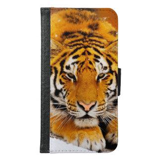 Coque Avec Portefeuille Pour Galaxy S6 Tigre sibérien